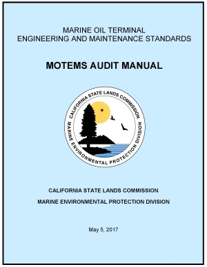 image of the cover page to the MOTEMS audit manual