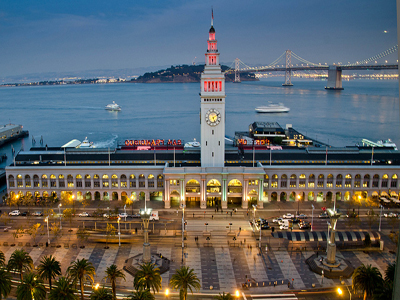 Ferry Building by Michele Ursino Attribution-ShareAlike 2.0 Generic (CC BY-SA 2.0)