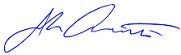 image of john ainsworth's signature
