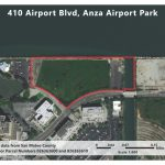 Aerial photo of 410 Airport Blvd., Burlingame CA
